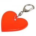 Brelok odblaskowy serce, art.73249